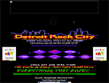Tablet Preview of detroitrockcity.org